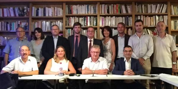 Réunion de travail du Collectif Racine en vue de l'élaboration des 100 propositions