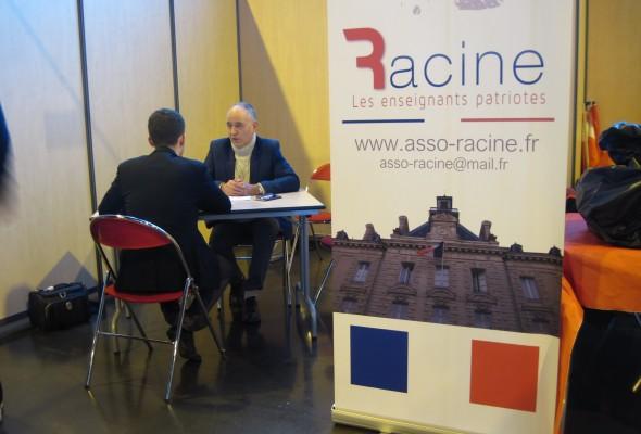 Notre stand au congrès fondateur des Patriotes à Arras